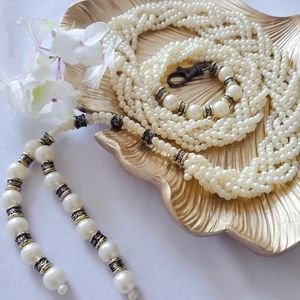 Pearl Braided Belt